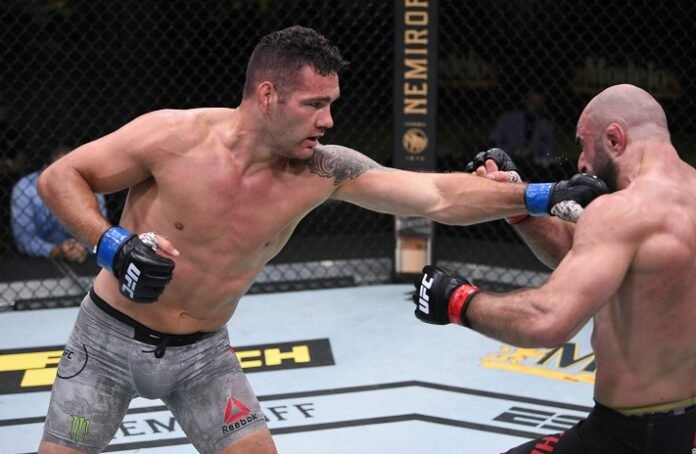 Chris Weidman vs. Omari Akhmedov, UFC Vegas 6