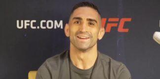 Ricardo Lamas UFC Vegas 8 media day