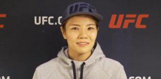 Ji Yeon Kim UFC Vegas 8 media day