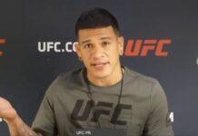 Maki Pitolo UFC Vegas 8 media day