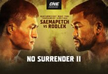 ONE Championship: No Surrender II poster