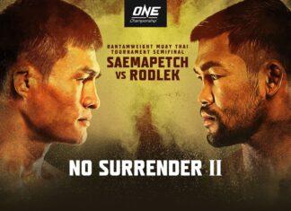 ONE Championship: No Surrender II poster