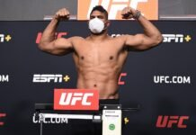 Alistair Overeem, UFC Vegas 9 weigh-in