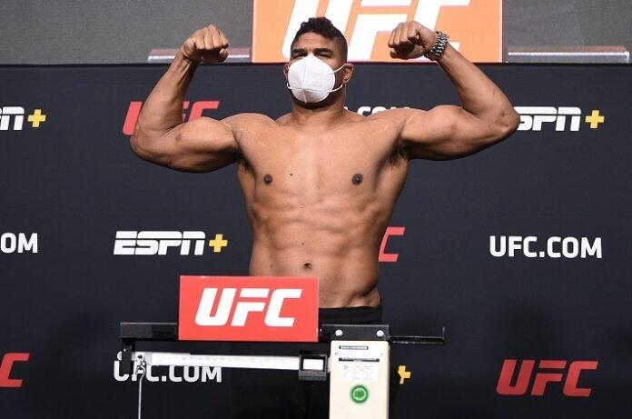 Alistair Overeem, UFC Vegas 9 weigh-in