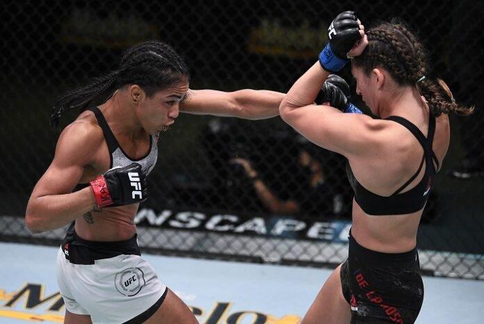 Viviane Araujo and Montana De La Rosa, UFC Vegas 9