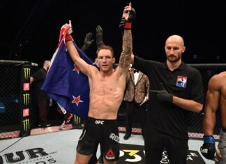 Brad Riddell UFC 253