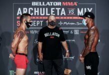 Derek Campos and Keoni Diggs Bellator 246