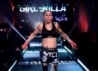 Liz Carmouche Bellator 246