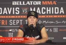 Cat Zingano Bellator 245