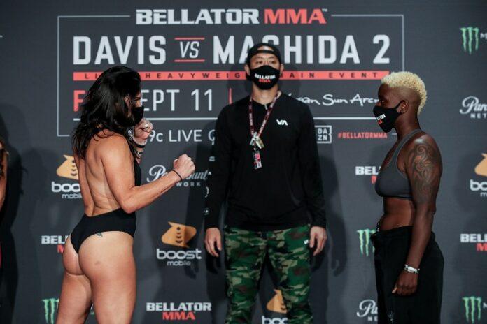Cat Zingano Gabby Holloway Bellator 245