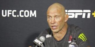 Cowboy Cerrone, UFC Vegas 11 post-fight