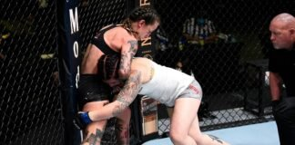Sarah Alpar and Jessica-Rose Clark, UFC Vegas 11