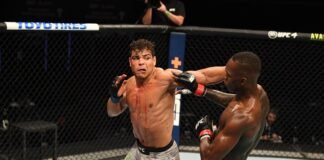 Paulo Costa and Israel Adesanya, UFC 253