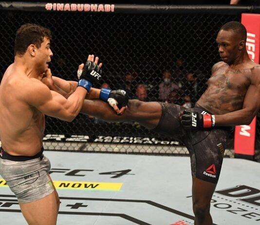 Paulo Costa and Israel Adesanya, UFC 253