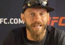 Cowboy Cerrone UFC Vegas 11 media day