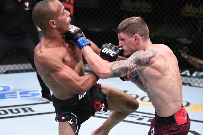 UFC Vegas 11 Results: David Dvorak Kicks Way To Victory Over Jordan Espinosa