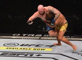 Juan Espino and Jeff Hughes, UFC 253