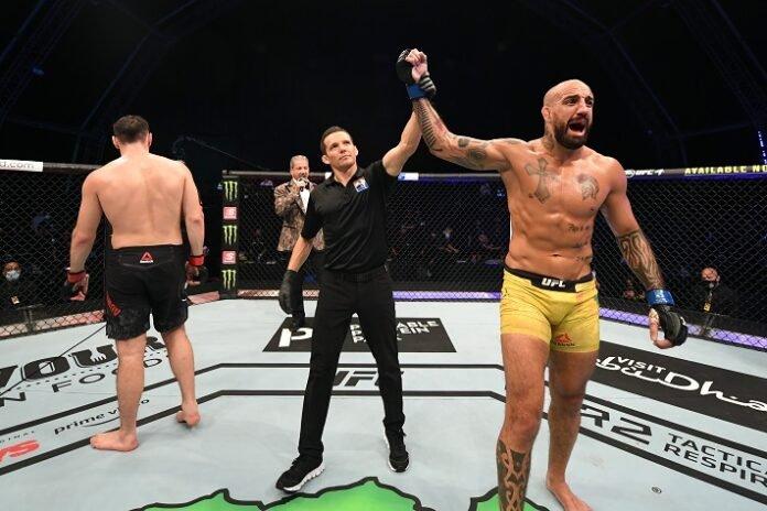 Khadis Ibragimov and Danilo Marques, UFC 253