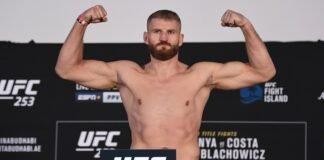 Jan Blachowicz UFC 253 weigh-in