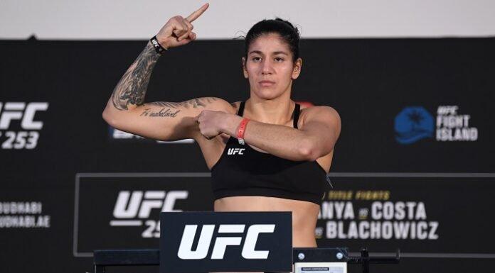 Ketlen Vieira UFC 253