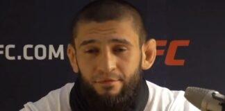 Khamzat Chimaev UFC Vegas 11 media day