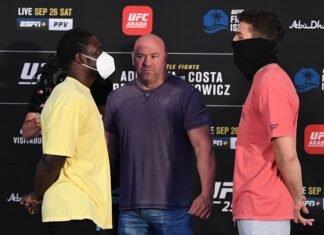 William Knight and Aleksa Camur, UFC 253 face-off