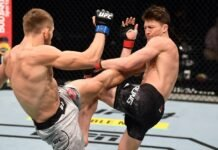 Ludovit Klein and Shane Young, UFC 253
