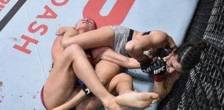 Mackenzie Dern submits Randa Markos at UFC Vegas 11