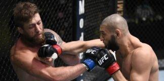 Khamzat Chimaev knocks out Gerald Meerschaert, UFC Vegas 11