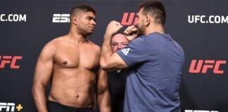 Alistair Overeem and August Sakai, UFC Vegas 9