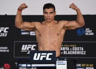 Paulo Costa UFC 253 weigh-in