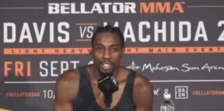 Phil Davis Bellator 245