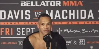 Raymond Daniels Bellator 245 post-fight
