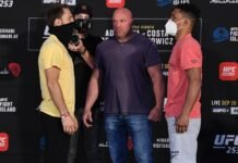 Brad Riddell and Alex da Silva, UFC 253 Weigh-in