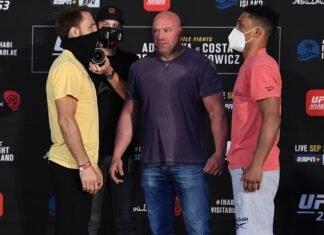 Brad Riddell and Alex da Silva, UFC 253 Weigh-in