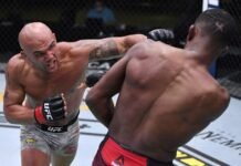 Robbie Lawler and Neil Magny, UFC Vegas 8