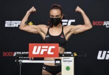 Michelle Waterson UFC Vegas 10