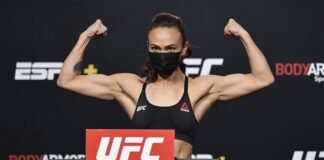Michelle Waterson UFC Vegas 10