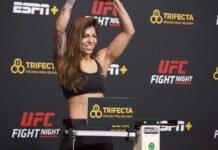 Mayra Bueno Silva, UFC