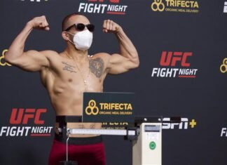 UFC Vegas 11 Colby Covington