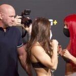 Mackenzie Dern and Randa Markos, UFC Vegas 11