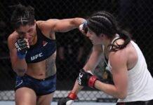 UFC Vegas 10 Julia Avila Sijara Eubanks