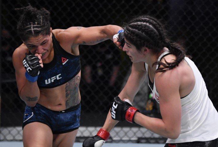 UFC Vegas 10 Results: Sijara Eubanks Defeats Julia Avila in Wild Fight