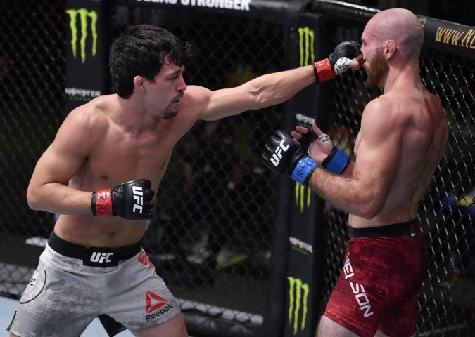 UFC Vegas 10 Billy Quarantillo Kyle Nelson