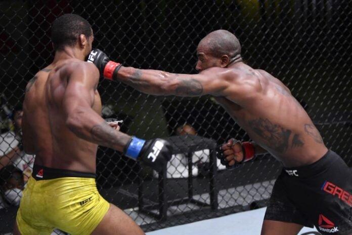 UFC Vegas 10, Bobby Green, Alan Patrick