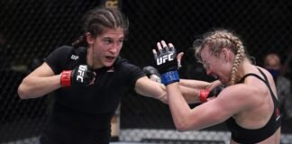 UFC Vegas 10 Roxanne Modafferi Andrea Lee