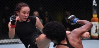 UFC Vegas 10 Michelle Waterson Angela Hill