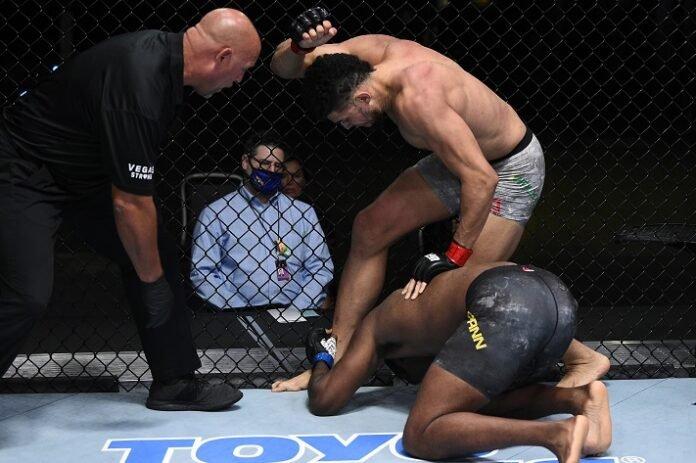 Johnny Walker stops Ryan Spann, UFC Vegas 11