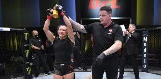 UFC Vegas 10 winner Michelle Waterson