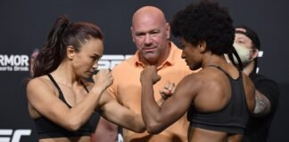 Michelle Waterson and Angela Hill, UFC Vegas 10